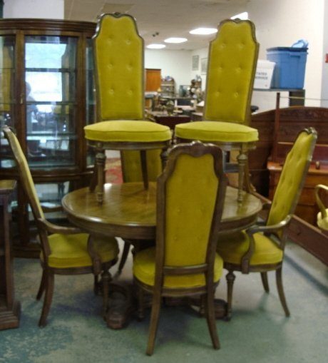1325 Bernhardt Hibriten 9 Pc Dining Room Suite Oval T