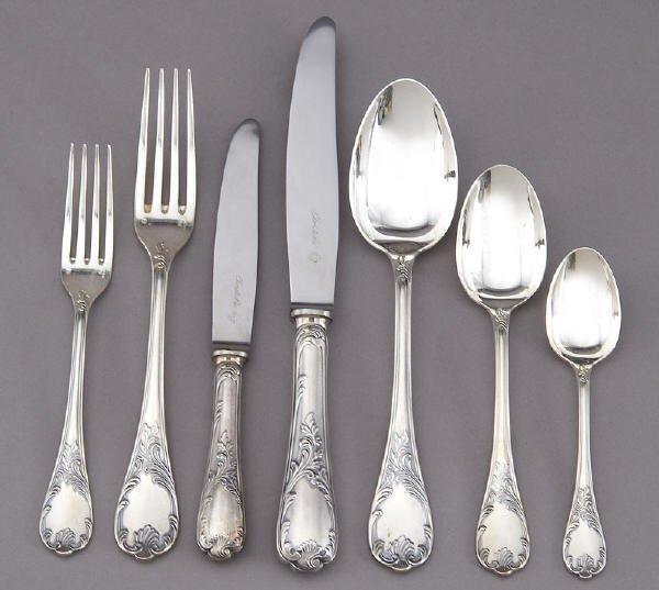 Christolfe Silverware Trousseau Pinterest Sterling