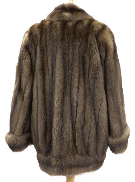 neiman marcus russian sable fur coat lot 474. Black Bedroom Furniture Sets. Home Design Ideas