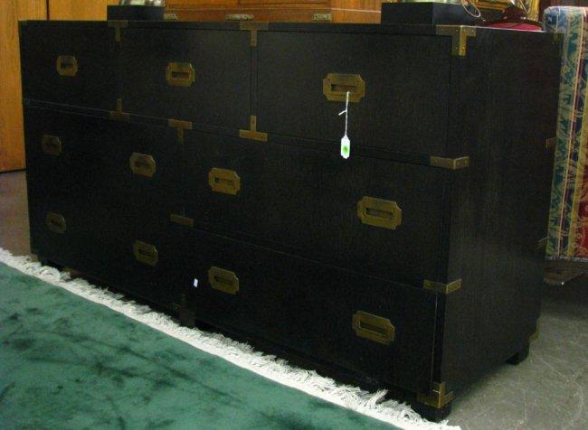 Vintage Baker Furniture Dresser And Night Stand Lot 295
