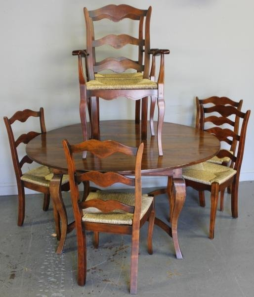 89 modern french country style dining room set lot 89