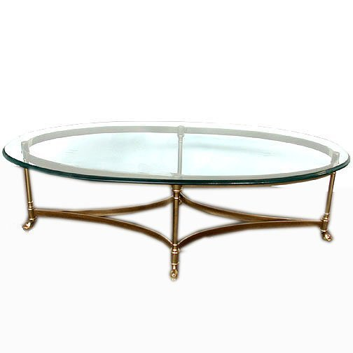 Glass tables oval coffee table glass Glass oval coffee tables