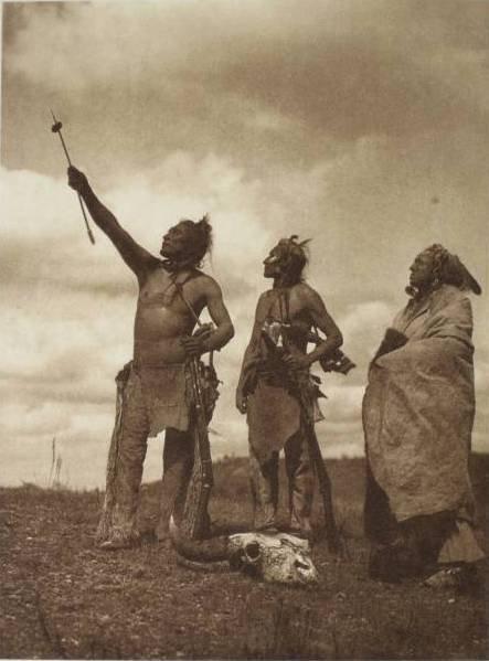 Indio absaroke orando