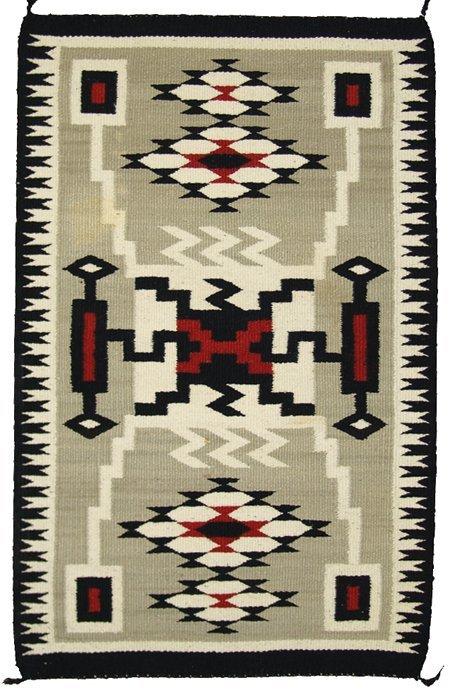 Navajo Rug Weaving Lot 560