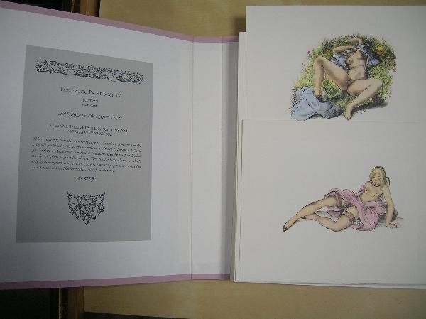 THE EROTIC PRINT SOCIETY. CLAYTON'S COLLEGE BY CO : Lot 2258