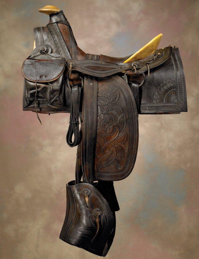 1880s California Style Half Seat Saddle Quot Lot 271
