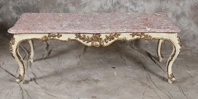 72 Rococo Style Coffee Table Lot 72