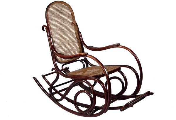 784 schaukelstuhl thonet vienna design rocking chair for Schaukelstuhl thonet