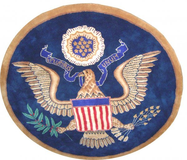 1704: Oval Office Rug From West Wing Episode Christmas