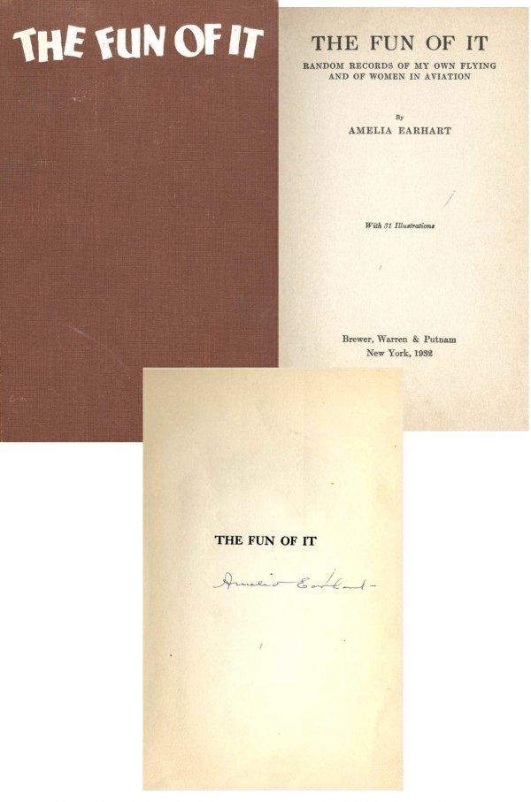 book dummary on amelia earhart