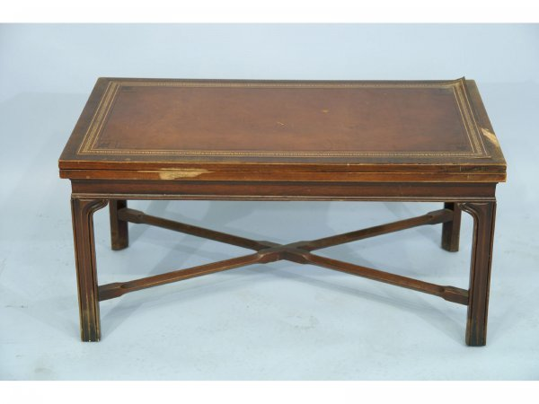160 A Flip Top Coffee Table By Heritage Henredon Lot 160