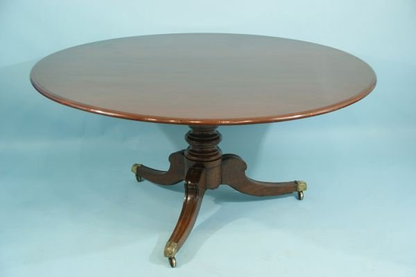 106: ENGLISH REGENCY FLIP-TOP BREAKFAST TABLE : Lot 106