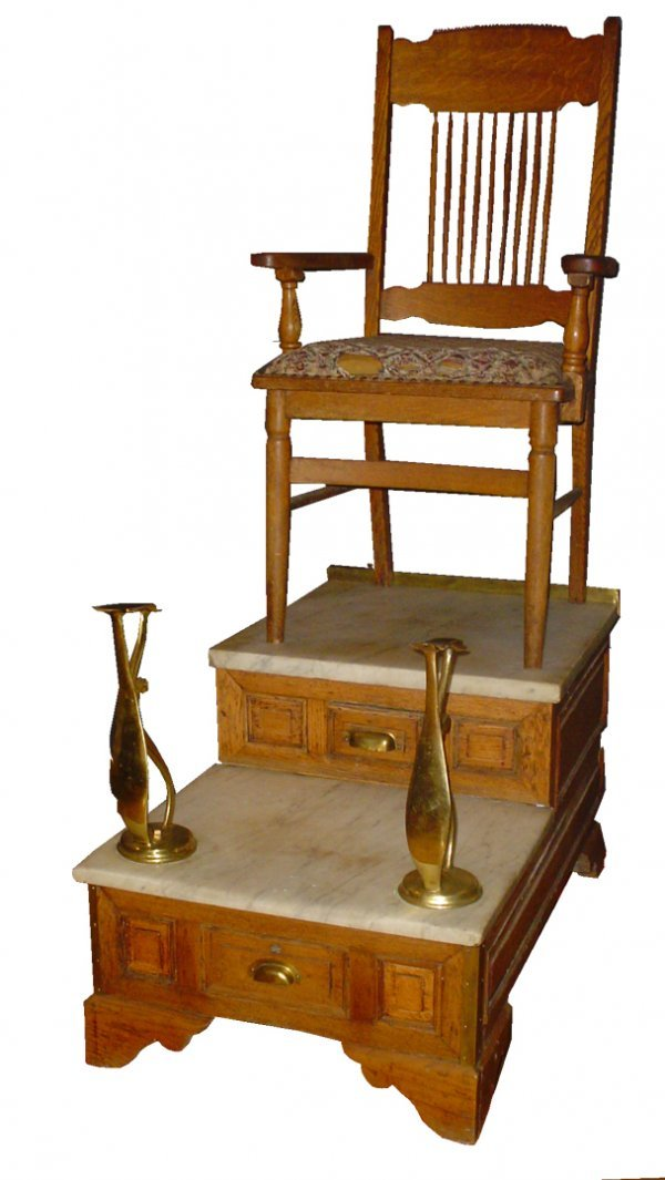 Vintage Shoe Shine Stand For Sale   Old School Shoes: Vintage Shoe Shine  Stand For