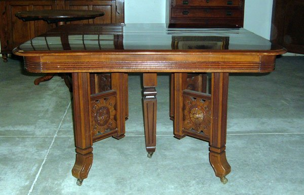 Dining Table Eastlake Victorian Dining Table