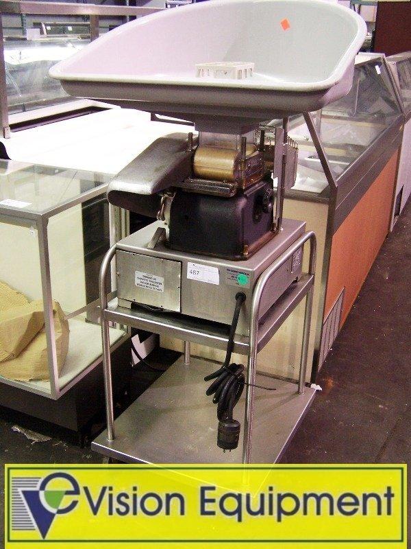 used hamburger patty machine