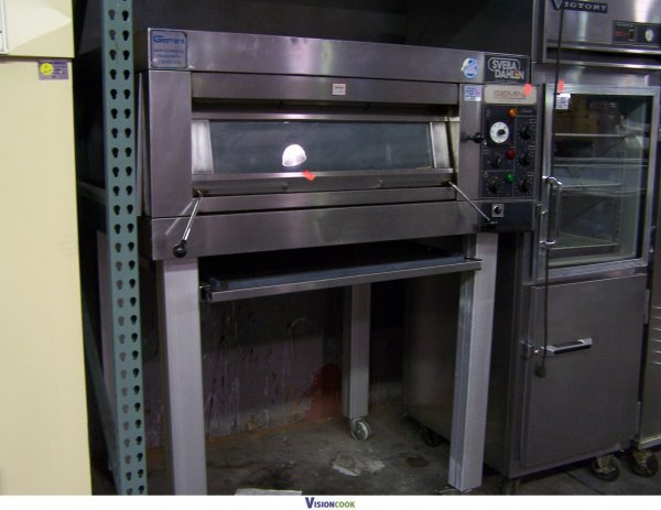 Sveba dahlen single deck oven
