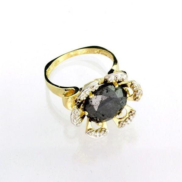 APP 12k 14kt Yellow & White Gold 5k Diamond Ring Lot 103