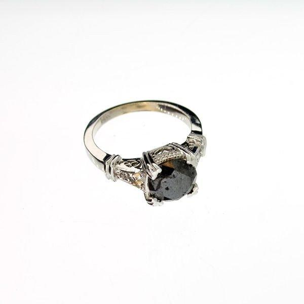APP 5k 14kt White Gold 2k Diamond Ring Lot 81