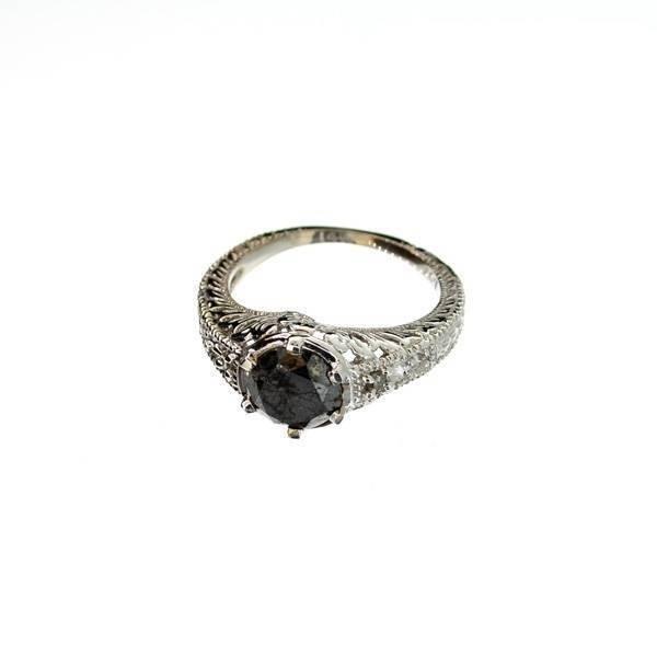 APP 3k 14kt White Gold 1k Diamond Ring Lot 91