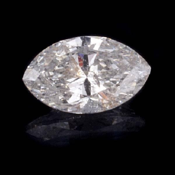 APP 8 3k 1 06CT Marquise Cut Diamond Gemstone Lot 1701C