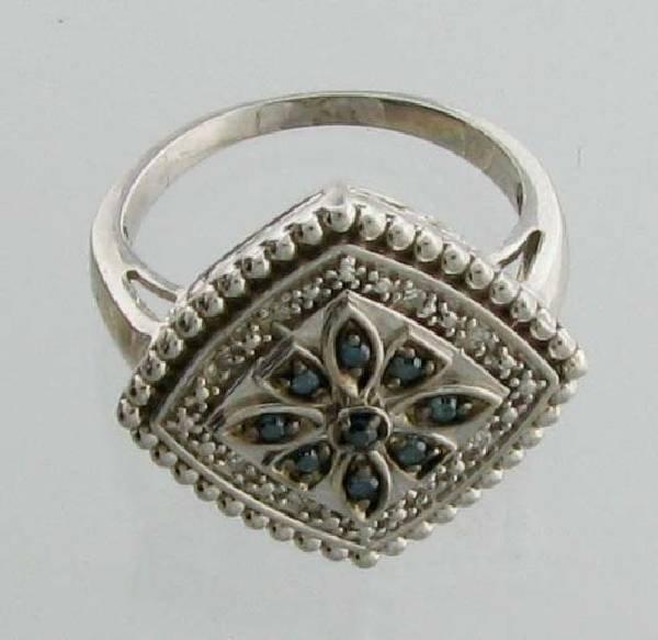 APP 1k 0CT Round Cut Diamond Plat Sterl Silver Ring Lot 61