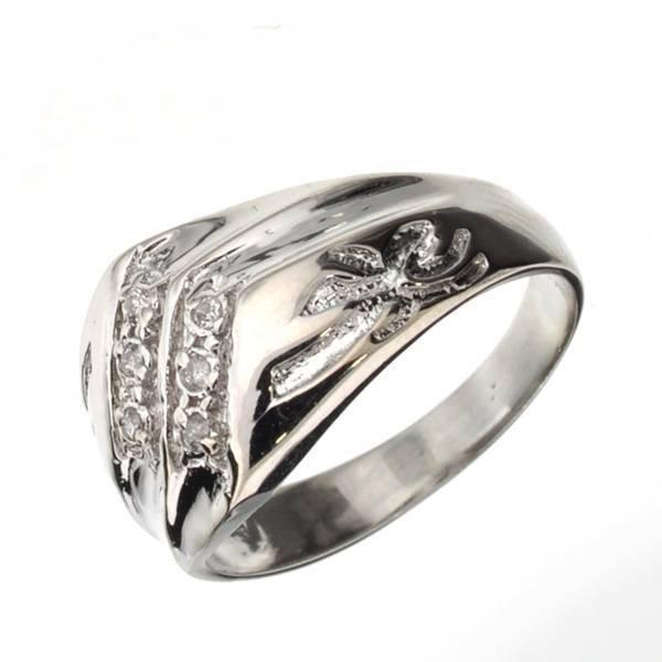 App 1k 0ct Round Cut Diamond Amp Sterl Silver Ring Lot 1310