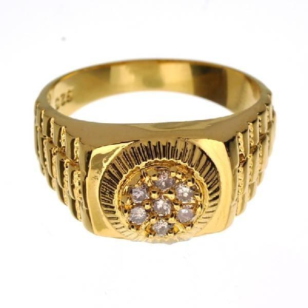 App 1k Round Cut Diamond Amp Sterl Silver Ring Lot 241