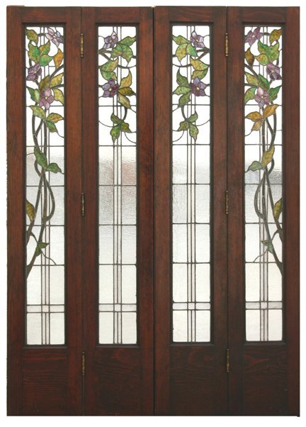 Folding Doors Glass Panels