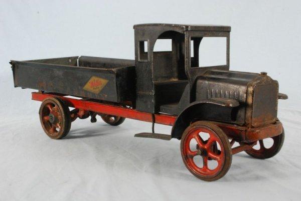 Large Toy Trucks For Boys : Kelmet big boy pressed steel toy dump truck lot