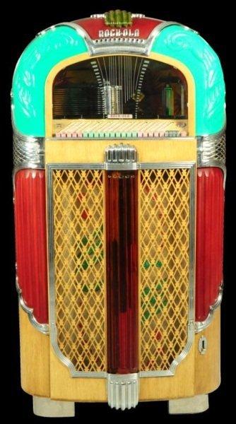 Line Art Jukebox : Rock ola model jukebox lot