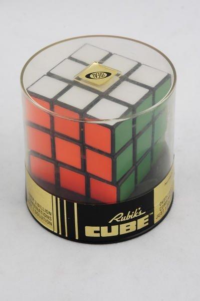 1448 1980 ideal rubik 39 s cube in original packaging lot 1448. Black Bedroom Furniture Sets. Home Design Ideas