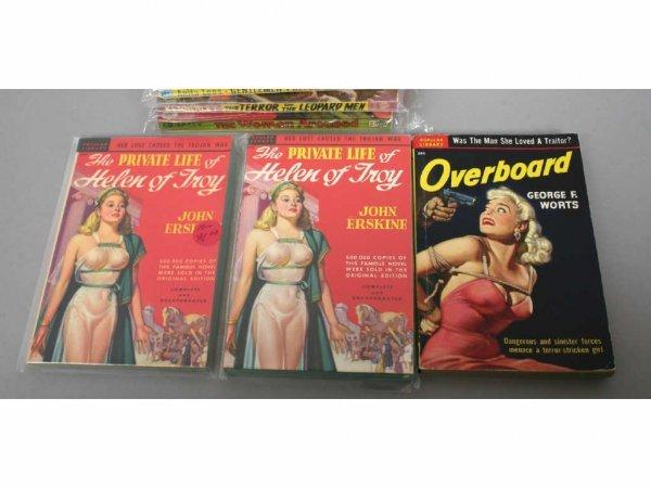 Group Vintage Adult Adventure & Erotic Paperbacks : Lot 67