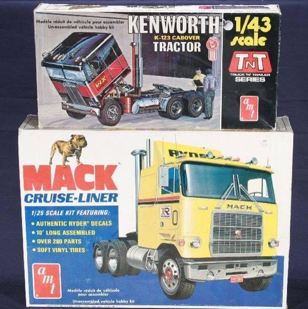 713: NETTE - 2 Early AMT Truck Model Kits: