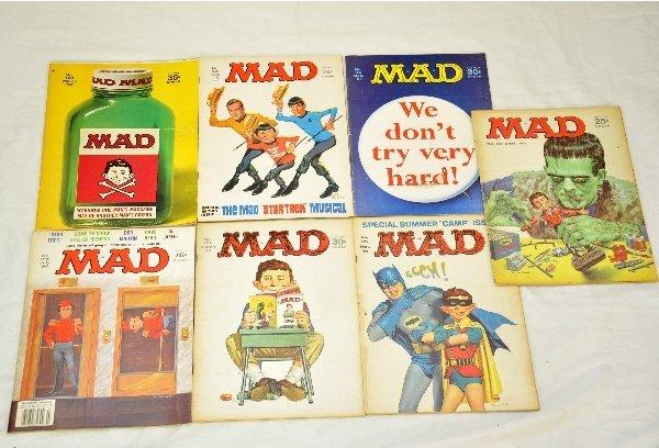 Vintage mad magazine value