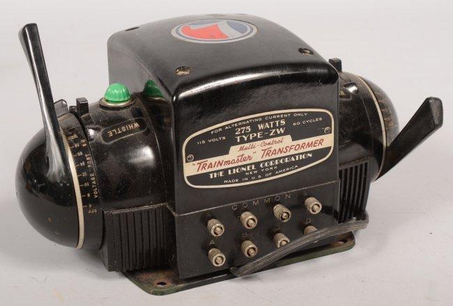 489 lionel trainmaster type zw transformer 275 watt. Black Bedroom Furniture Sets. Home Design Ideas
