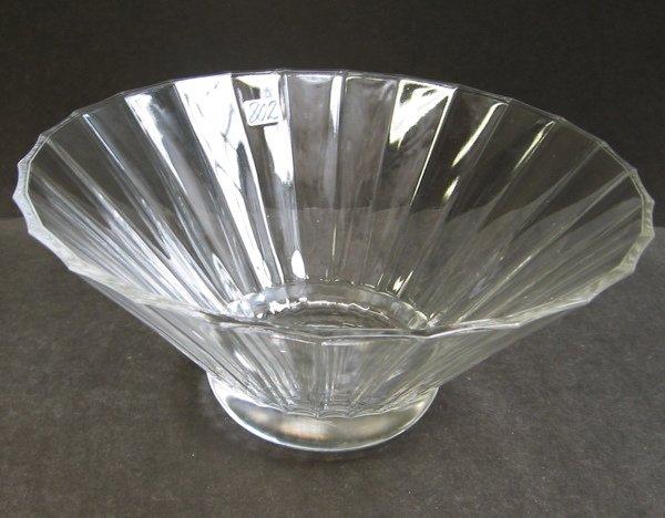 802 an art crystal villeroy boch center bowl from t for Villeroy boch crystal