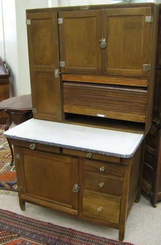 52 HOOSIER KITCHEN CABINET G I Sellers Sons Co Lot 52