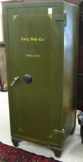 268 Tall Floor Safe Cary Safe Co Buffalo New York