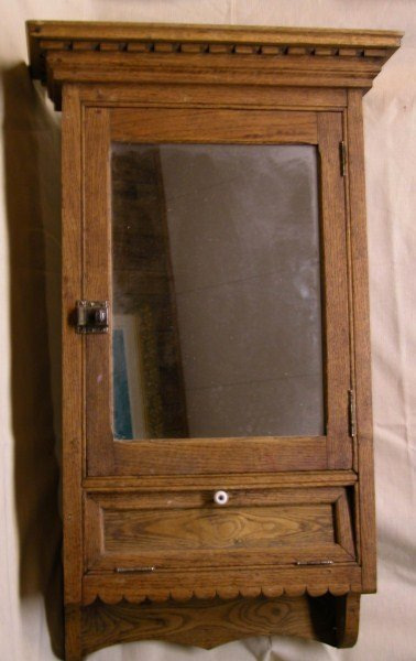 114 antique victorian medicine cabinet lot 114 Display home furniture auctions perth