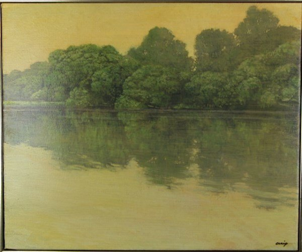 Oil On Canvas Philip Craig Lot 64