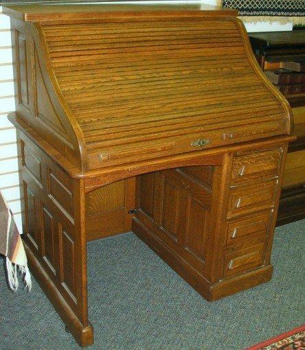 Small Oak Roll Top Desk Small 29 Quot Wide Oak Roll Top