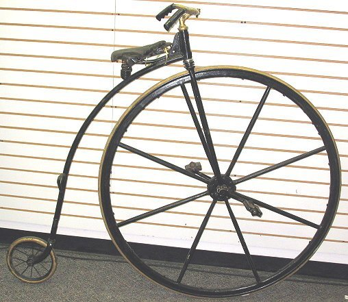 Old Fashioned Bikes With Big Front Wheel
