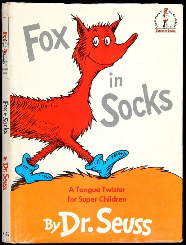 Related Pictures fox in socks by dr seuss coloring page