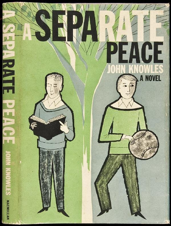 essays novel separate peace A separate peace essays in the novel a separate peace, by john knowles one of the most important themes is about friendship growing through conflict this theme also.