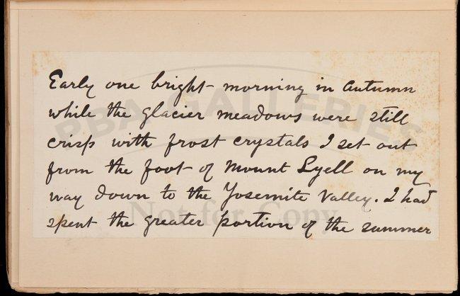 Writings of John Muir