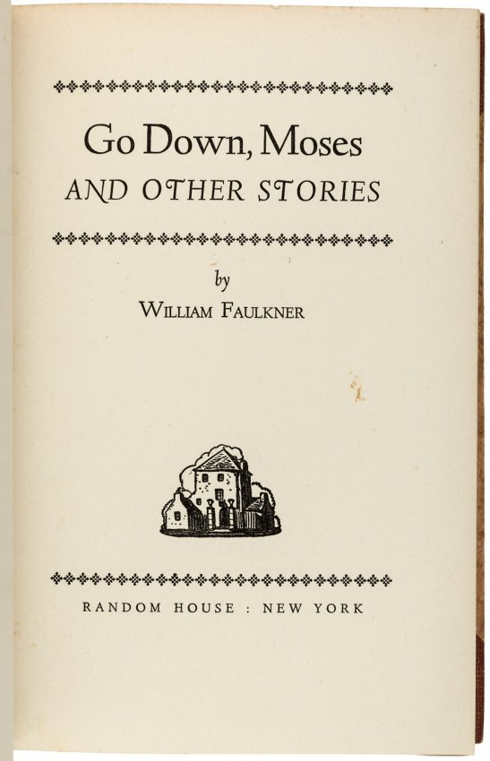 william faulkners go down moses