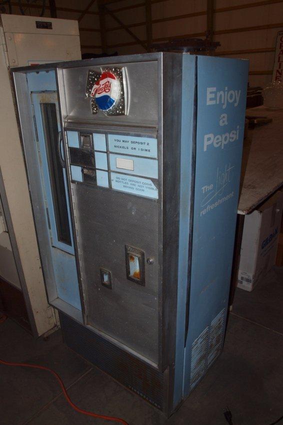 pop bottle machine