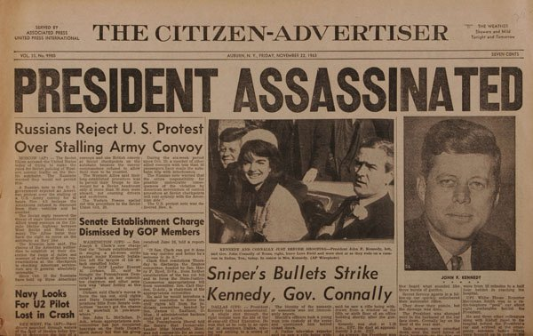 Jfk assassination essay