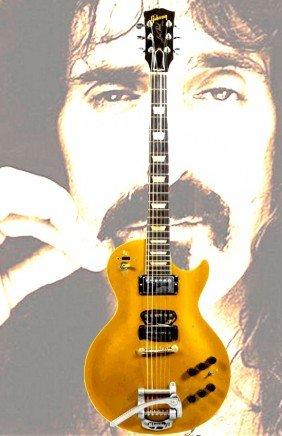 70 frank zappas les paul goldtop guitar lot 70