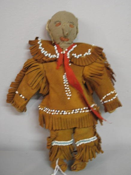 470 Eastern Woodlands Iroquois Doll Male Doll With Le